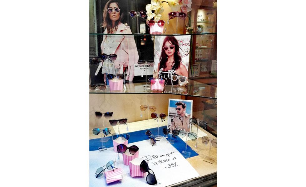 Sconto del 35% sugli occhiali esposti in vetrina - Ottica Iacino