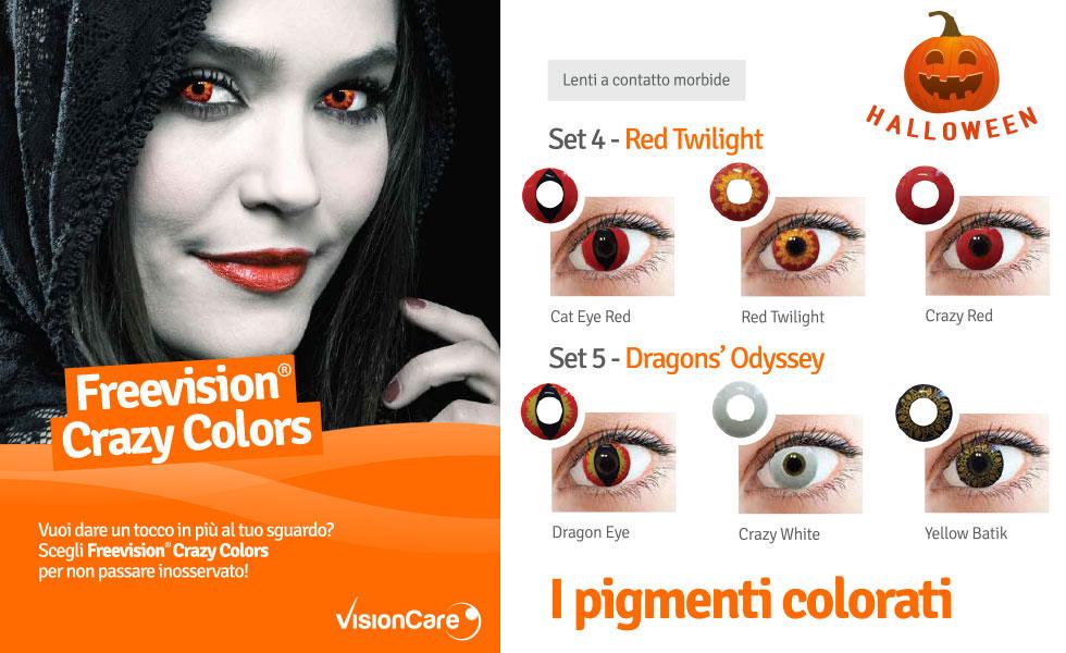 Da Ottica Iacino Roma, lenti colorate per Halloween