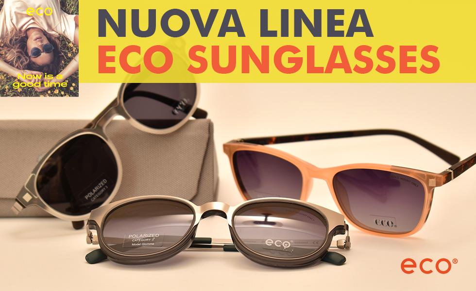 Collezione occhiali Eco Sunglasses da Ottica Iacino Roma